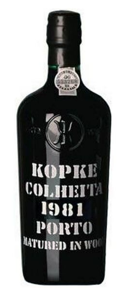 Kopke Colheita Port 1981