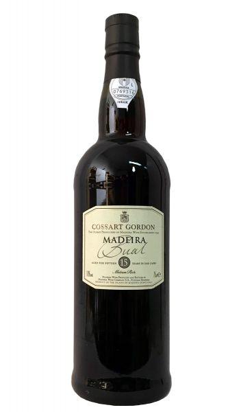 Madeira Cossart Gordon 15 Years Old Bual
