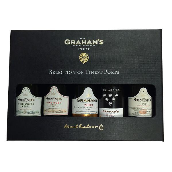 Graham's Portwein-Geschenkbox (Selection of Finest Ports)