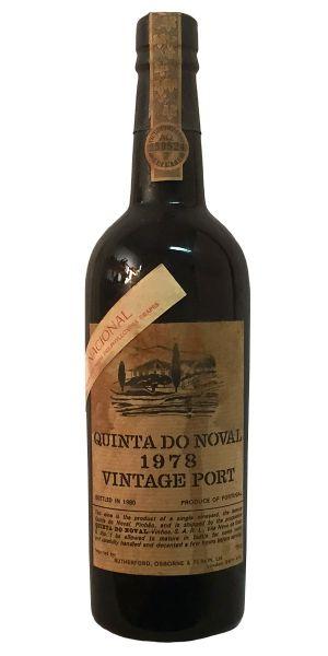 Quinta do Noval Vintage Port Nacional 1978