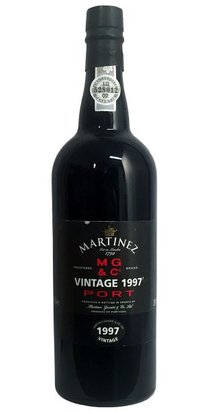 Martinez Vintage Port 1997