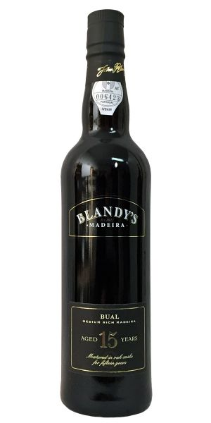 Madeira Blandy's 15 Years Old Bual