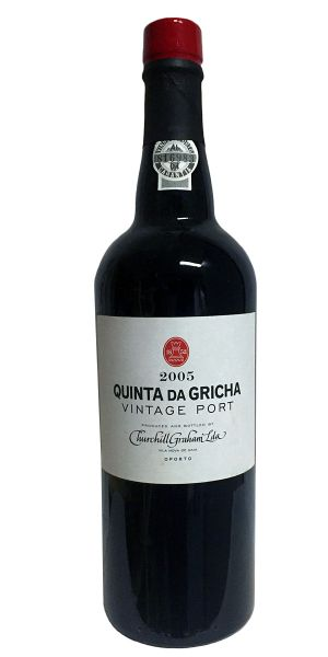 Churchill Quinta da Gricha Vintage Port 2005