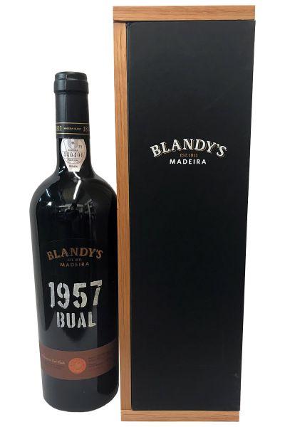 Madeira Blandys Bual 1957
