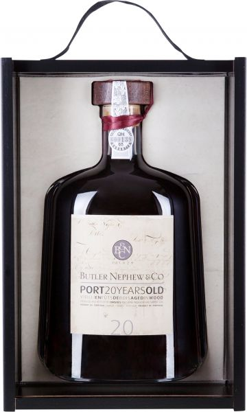Butler Nephew & Co. 20 year old Tawny Port Karaffe