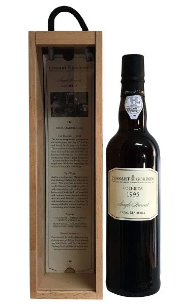Cossart Gordon Bual Single Harvest Colheita 1995