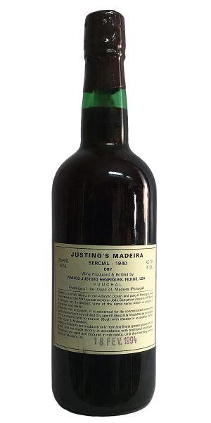 Madeira Justino Sercial 1940