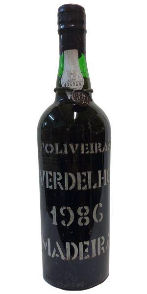 Madeira de Oliveira Verdelho 1986