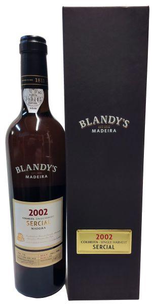 Madeira Blandys Sercial Colheita 2002
