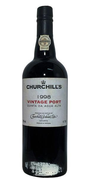 Churchill's Quinta da Agua Alta Vintage Port 1998