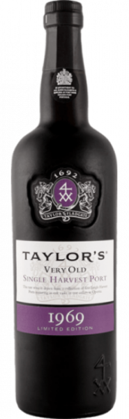 Taylor Single Harvest Colheita Port 1969