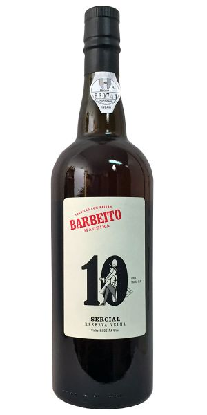 Madeira Barbeito 10 Years Old Sercial