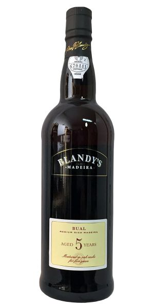 Madeira Blandy's 5 Years Old Bual