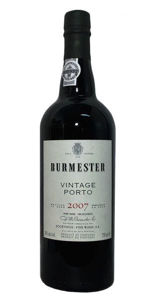 Burmester Vintage Port 2007