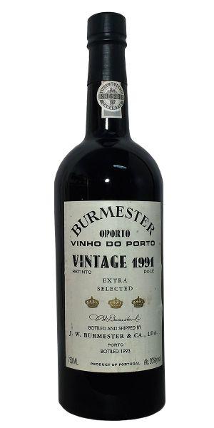Burmester Vintage Port 1991