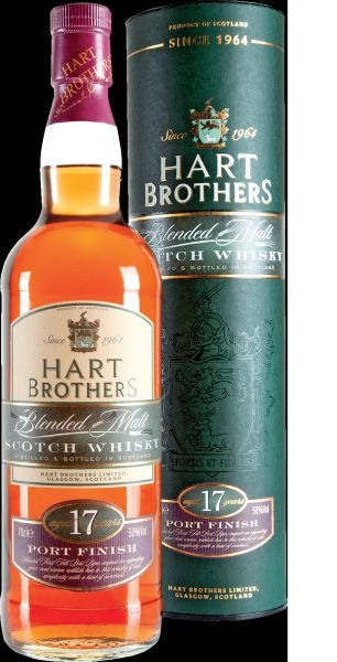 Hart Brothers 17 Years Old Scotch Whisky (Port Finish)