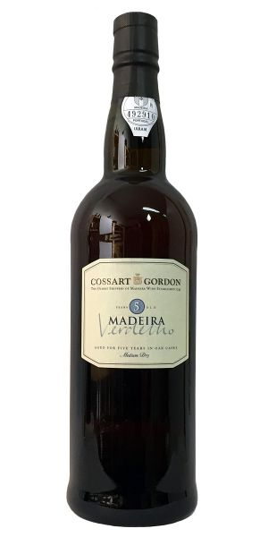 Madeira Cossart Gordon 5 Years Old Verdelho