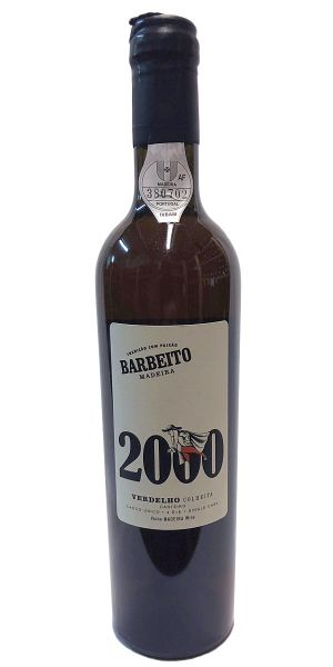 Madeira Barbeito Verdelho Colheita 2000
