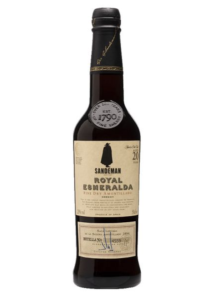 Sherry Sandeman Royal Esmeralda Fine Dry Amontillado 20 Years Old