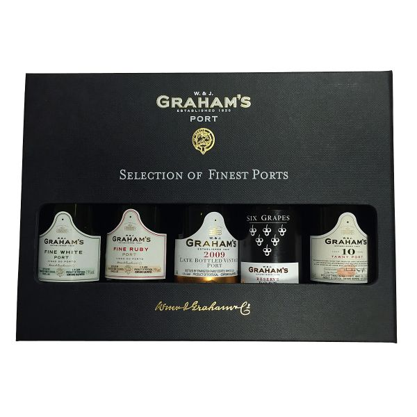 Graham's Portwein-Geschenkbox (Selection of Finest Ports)
