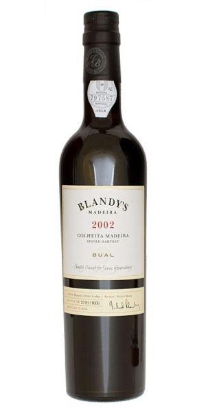 Blandys Bual Colheita 2002