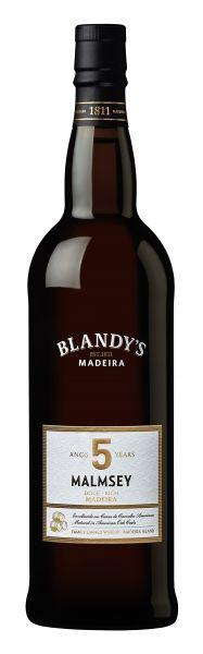 Madeira Blandys 5 year old Malmsey