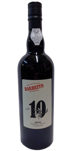 Madeira Barbeito 10 Years Old Boal