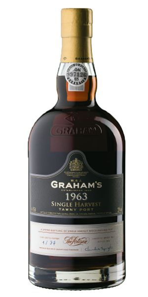 Graham Single Harvest Colheita Port 1963