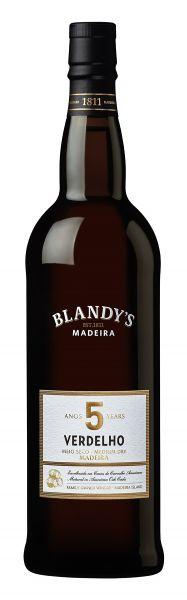 Madeira Blandys 5 year old Verdelho