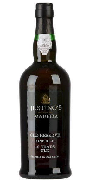 Justino 10 Years Old Fine Rich Sweet Reserve