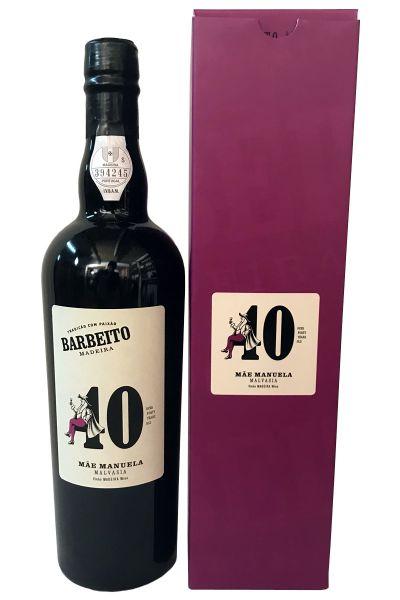 "Madeira Barbeito 40 Years Old Malvasia ""Mae Manuela"""